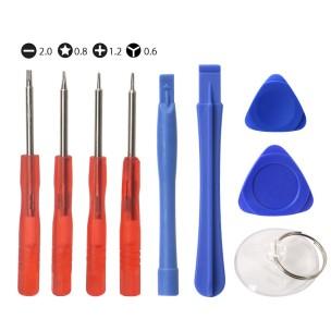 Reparatie Set Tools 9-delig voor iPhone 4 5 6 7 8 X