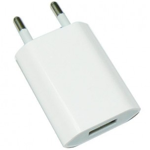 USB Mini Power Adapter Compatible voor iPhone iPod