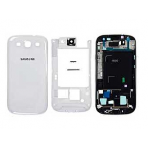 Behuizing Marble White voor Samsung Galaxy S3 i9300