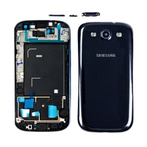 Behuizing Pebble Blue voor Samsung Galaxy S3 i9300