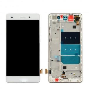 Huawei P8 Scherm Voorkant Display met Frame Wit