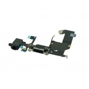 Audio Dock Antenna Mic Flex Kabel Zwart voor iPhone 5