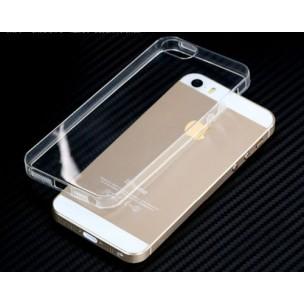 Beschermhoes Ultradun TPU Doorzichtig voor iPhone 5 5S SE