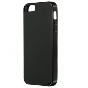 Beschermhoes TPU Zwart voor iPhone 5