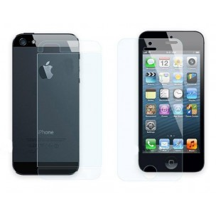 Screen Protector Front en Back voor iPhone 5