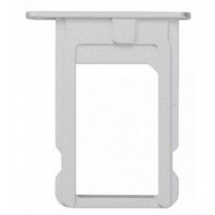 SIM Card Tray Zilver voor iPhone 5S