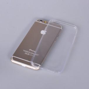 Beschermhoes TPU 0.3mm Transparant voor iPhone 6 en 6S