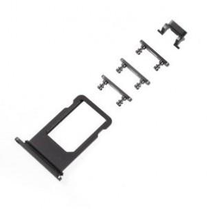 iPhone 8 Sim Tray Button Set Zwart