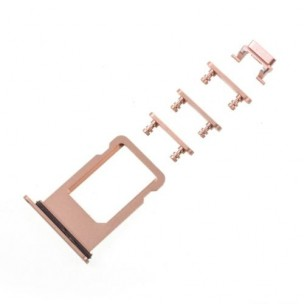 iPhone 8 Sim Tray Button Set Goud