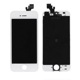 Voorkant AA Wit voor iPhone 5