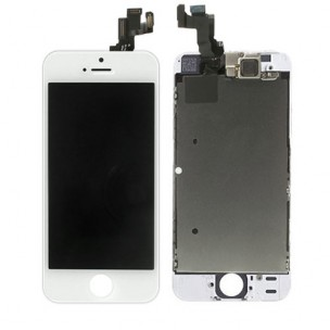 iPhone 5S Voorkant OEM incl Smallparts Wit