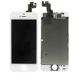 Voorkant OEM incl Smallparts Wit voor iPhone 5S en SE