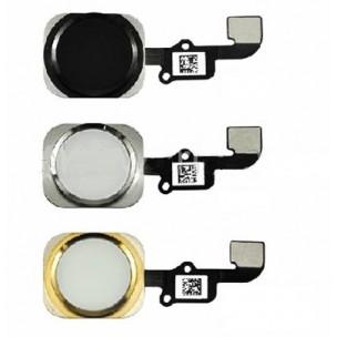 iPhone 5S en SE Home Button en Flex Assembly Zwart
