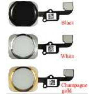 Home Button Zwart en Flex Assembly voor iPhone 6 en 6 Plus