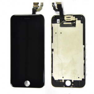iPhone 6 4.7inch Voorkant OEM incl Smallparts Zwart