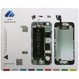 Magnetische Schroeven Mat voor iPhone 6