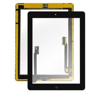 Voorkant Digitizer Compleet Zwart voor iPad 4