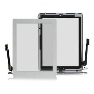 Voorkant Digitizer Compleet Wit voor iPad 4