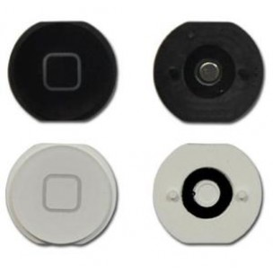 Home Button Zwart voor iPad Mini 1 en 2