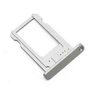 SIM Card Tray Zilver voor iPad Mini 1 en 2 en iPad Air