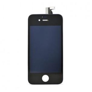 Voorkant Compatible AA Zwart voor iPhone 4