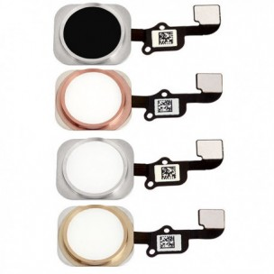 Home Button Zilver en Flex Assembly voor iPhone 6S en 6S Plus