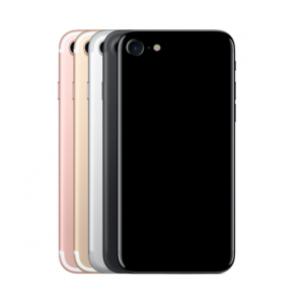 iPhone 7 Blanco Behuizing Rosegoud