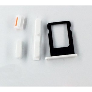 SIM Card Tray Button Set Wit voor iPhone 5C
