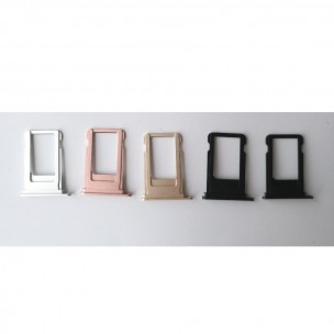 iPhone 7 SIM Card Tray Gitzwart