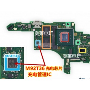 Nintendo Switch Power Charge IC M92T36