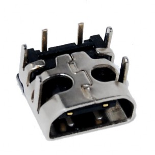 Power Connector Socket voor NDS Lite