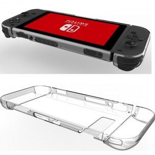 Nintendo Switch Beschermhoes Plastic Doorzichtig