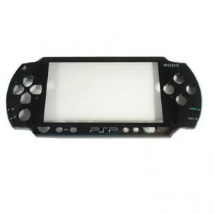 Front Cover Faceplate Zwart voor PSP1000