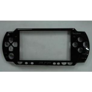 Front Cover Faceplate Zwart voor PSP2000