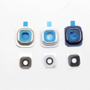 Samsung Galaxy S6 Rear Camera Lens Cover Blauw incl Sticker en Lens Glas