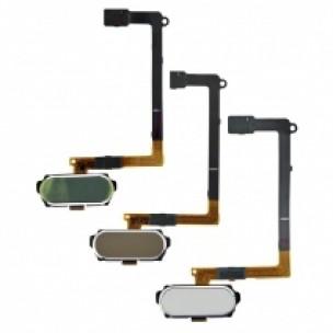 Samsung Galaxy S6 Home Button Flex Assembly Zwart