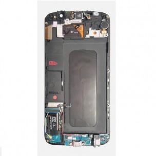 Samsung Galaxy S6 Scherm Voorkant Display met Frame Origineel Wit