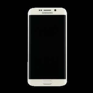 Samsung Galaxy S7 Scherm Voorkant Display met Frame Origineel Wit
