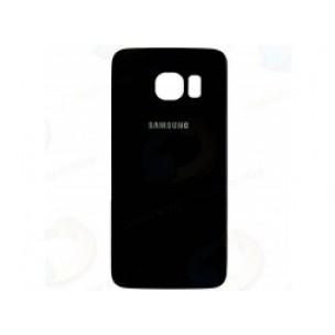 Samsung Galaxy S6 Edge Achterkant met Plakstrip Zwart