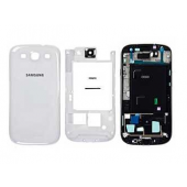 Behuizing Marble White voor Samsung Galaxy S4 i9505