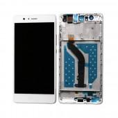 Huawei P9 Lite Scherm Voorkant Display met Frame Wit