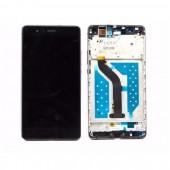Huawei P9 Lite Scherm Voorkant Display met Frame Zwart