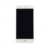 Huawei Nova Scherm Voorkant Display met Frame Wit