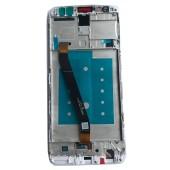 Huawei Mate 10 Lite Scherm Voorkant Display met Frame Wit