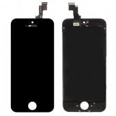 iPhone 5C Voorkant AA Zwart