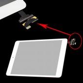 Compatible Voorkant Digitizer Compleet Wit voor iPad Mini