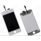 Voorkant Front Assembly Wit voor iPod Touch 4G