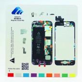 Magnetische Schroeven Mat voor iPhone 5