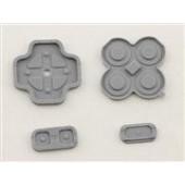 New 3DS Button Rubber Set 4-delig