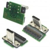 Nintendo Switch Dock USB-C Poort Connector Board met Flex Kabel